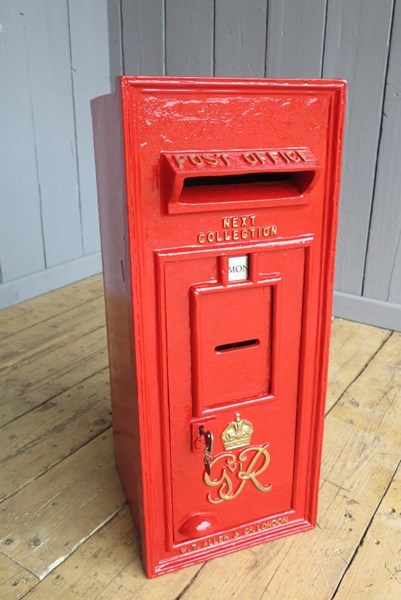 Primary Image - Original George 6th Wall Mounted Post Box