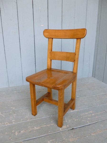 Primary Image - Excellent Solid Oak Antique Dining Chairs