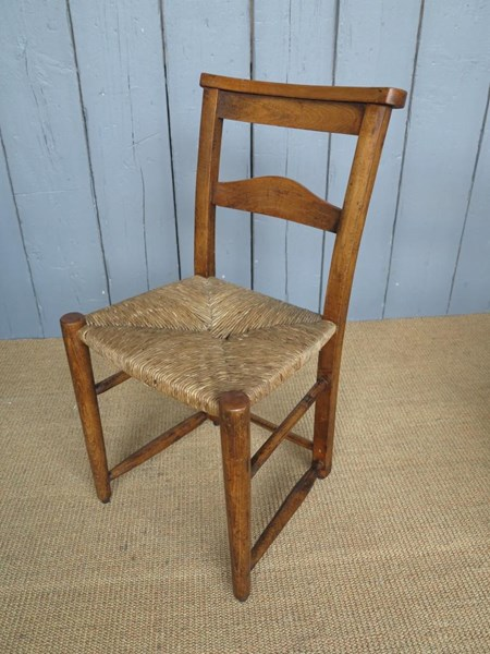 Primary Image - Antique Rush Seated Kitchen Chairs