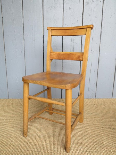 Primary Image - Reclaimed Antique Church Chairs