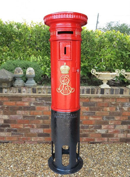 Primary Image - Edward 7th Royal Mail Cast Iron Pillar Box
