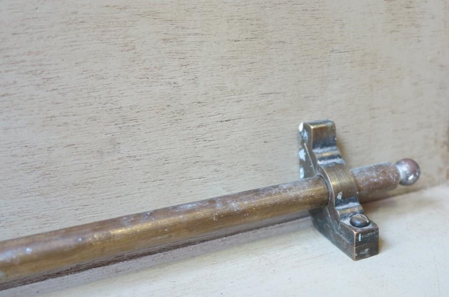 Primary Image - Vintage Set of Solid Brass Stair Rods