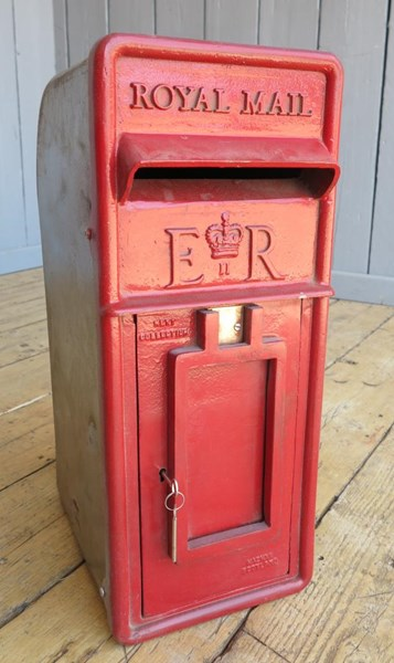 Primary Image - Royal Mail Post Box Cast Iron Front Arch Back
