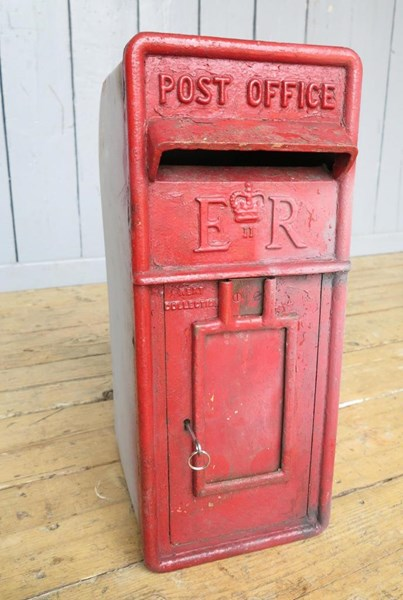 Primary Image - Original Royal Mail Post Box With Cage
