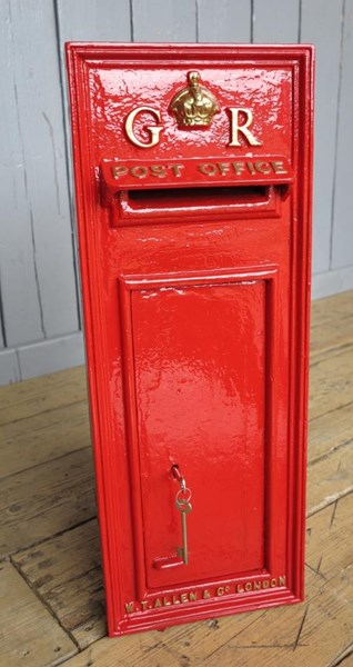 Primary Image - George 5th Wall Mounted Royal Mail Post Box With Back Door