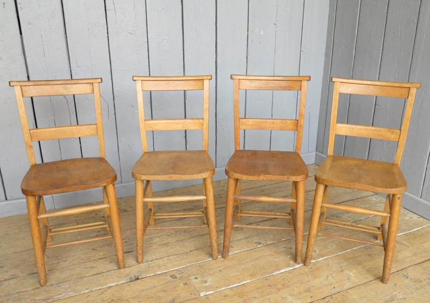 Primary Image - Set of 4 Church Chairs