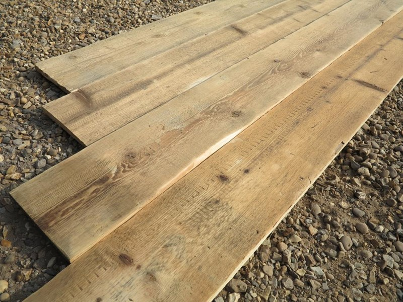 Primary Image - Re Sawn Antique Pine Floorboards