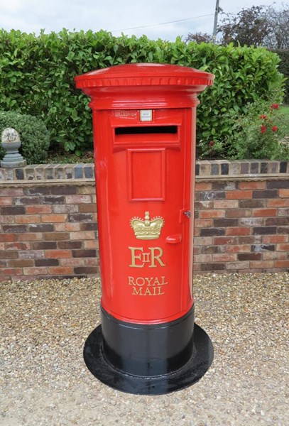 Primary Image - Royal Mail ER Cast Iron Floor Mounted Pillar Box