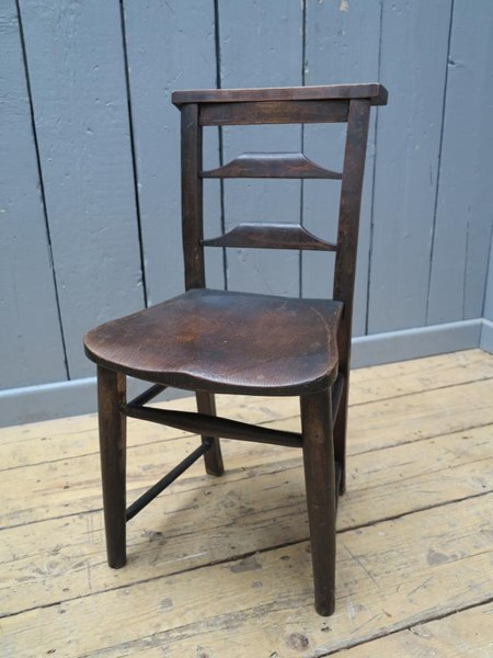 Primary Image - Antique Victorian Church Chairs