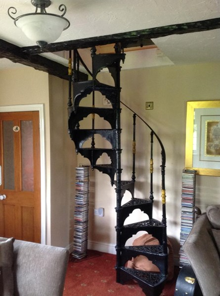 Primary Image - Reclaimed Cast Iron Spiral Staircase