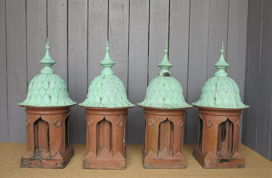 Primary Image - Antique Copper Roof Top Ventilator