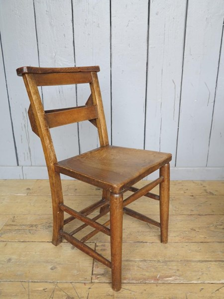 Primary Image - Reclaimed Church Chairs With Book Holders