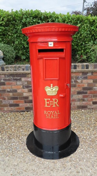 Primary Image - ER Cast Iron Royal Mail Floor Mounted Pillar Box