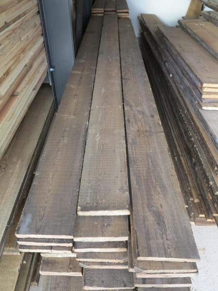 Primary Image - Antique Pine Re Sawn Floorboards