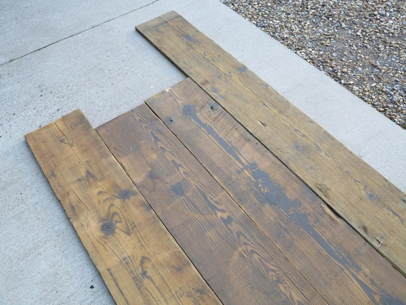 Primary Image - Pine Re Sawn Square Edged Floorboards