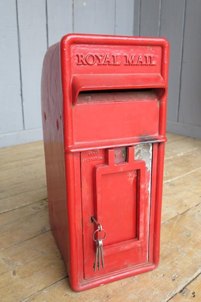 Post Office Red Royal Mail Arch Back Post Box
