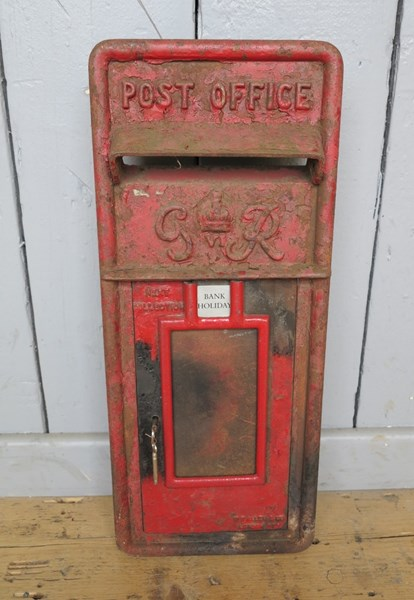 Royal Mail GR VI Post Office Box Front
