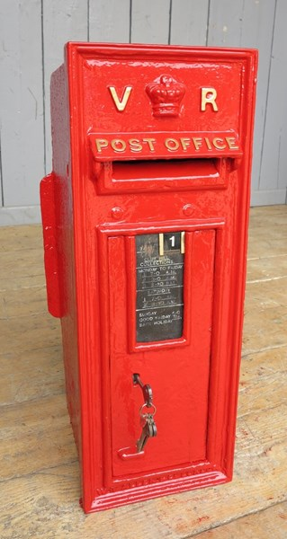 Queen Victoria 'VR' Wall Mounted Post Box