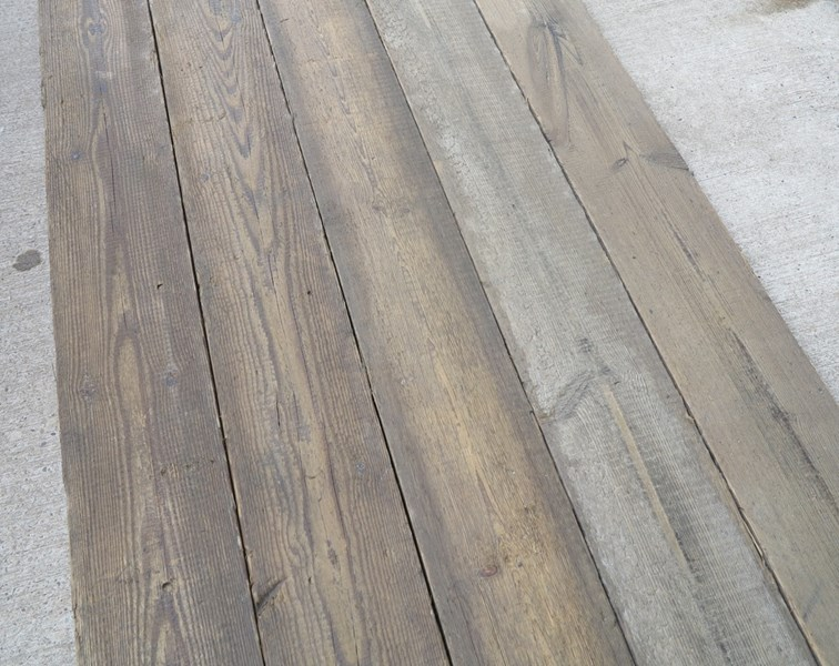 Pine Re Sawn Antique Floorboards