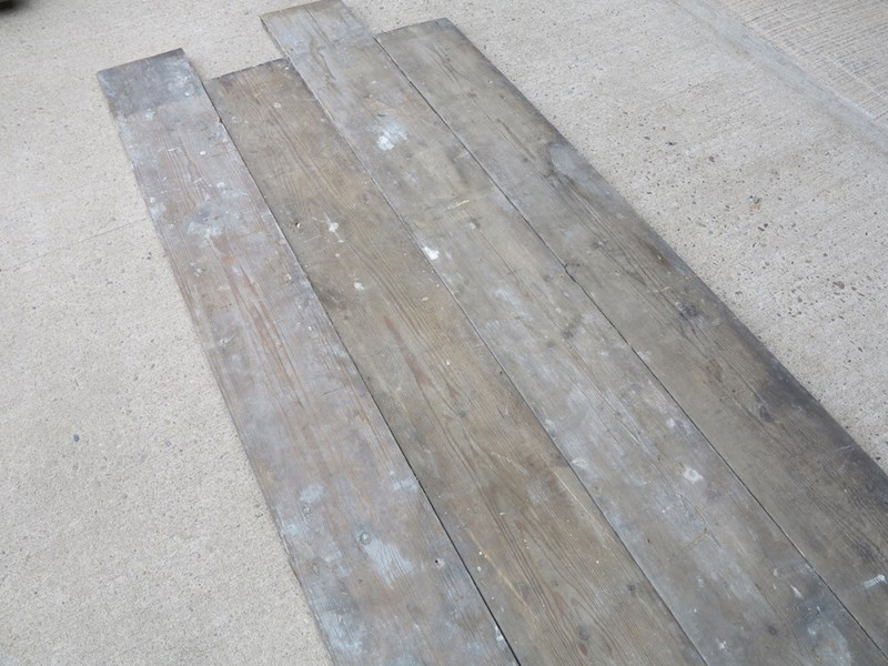 Antique Reclaimed Pine Square Edged Floorboards