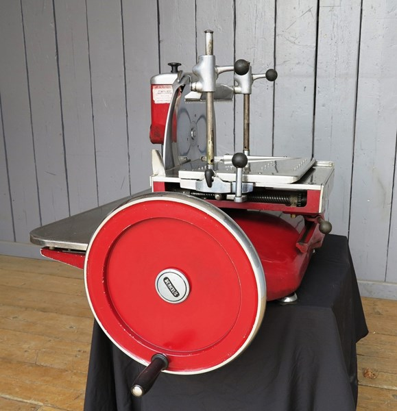 Berkel and Parnalls Slicing manufacturing Company Limited from Enfield Middlesex Bacon and Meat Slicer