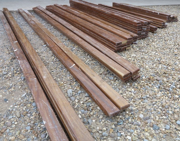 Hardwood Mahogany School Bench Laths