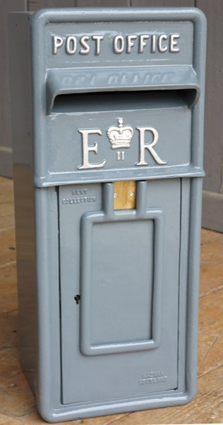 Original British Royal Mail Wall Mounted Post Box