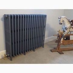 6 Column Cast Iron Victorian Radiator