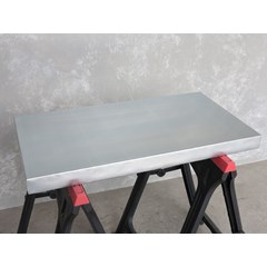 60mm Thick Natural Zinc Kitchen Worktop