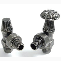 Abbey Manual Pewter Finish Valves