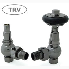 Amberley Black Nickel Thermostatic Valves
