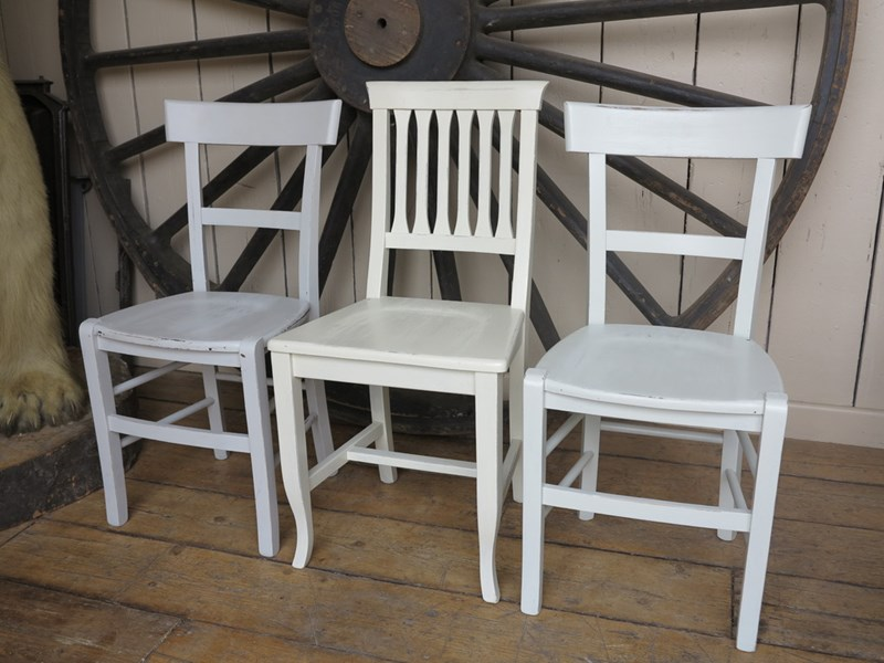 Antique Church Chair Painting Service