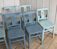 Antique Church Chairs Painted in Your Colour Choice
