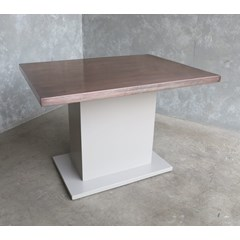 Antique Copper Finish Contemporary Table