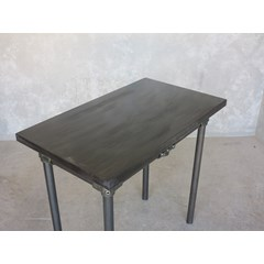 Antique Finish Zinc Table With Metal Base