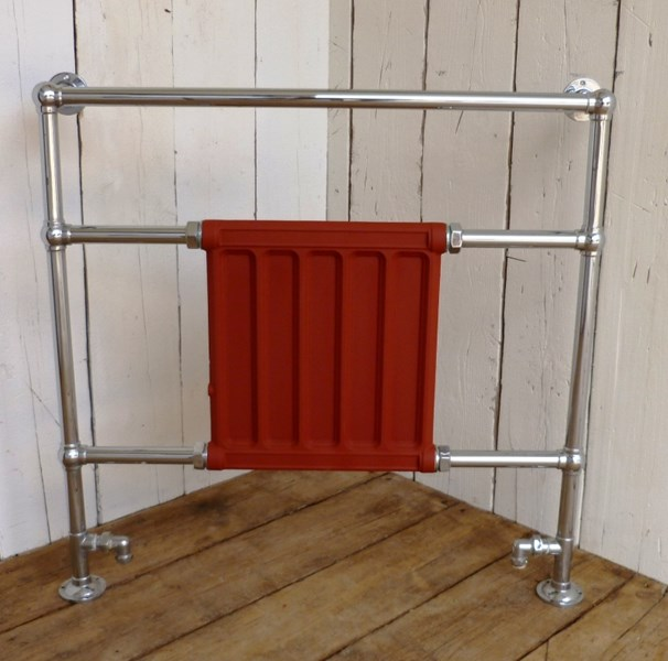 Antique Reclaimed Bathroom Towel Rail Radiator