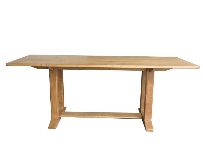 Antique Solid Oak Refectory Dining Table