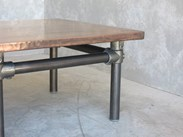Antiqued Copper Coffee Table at UKAA