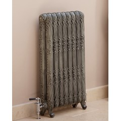 Antiqued French Grey Orleans Radiator