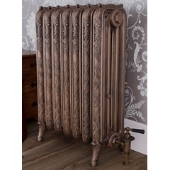 Antiqued Hammered Gold Ribbon Radiator
