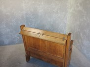 Back View of Antique Reclaimed Victorian Settle