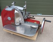 Berkel and Parnalls Red Metal Slicer