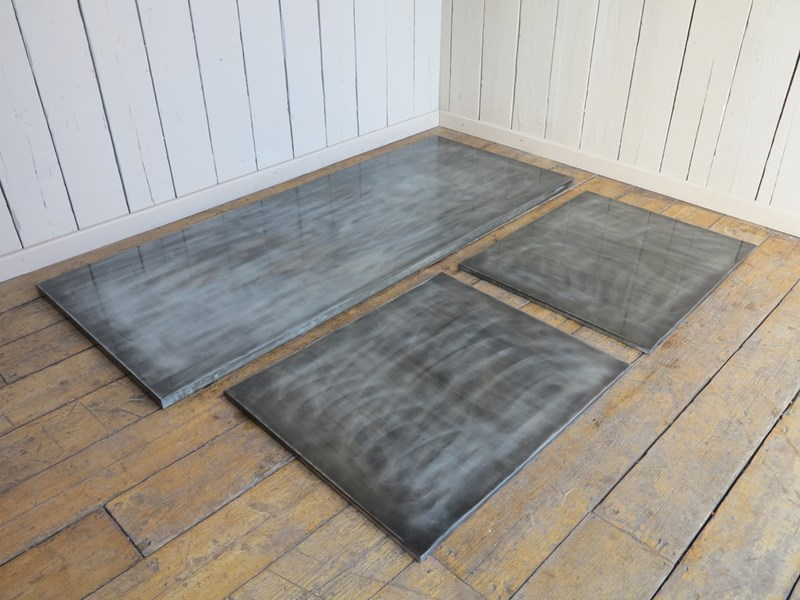Bespoke Antiqued Zinc Kitchen Worktop Units
