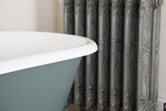 Bisley Double Ended Roll Top Cast Iron Bath