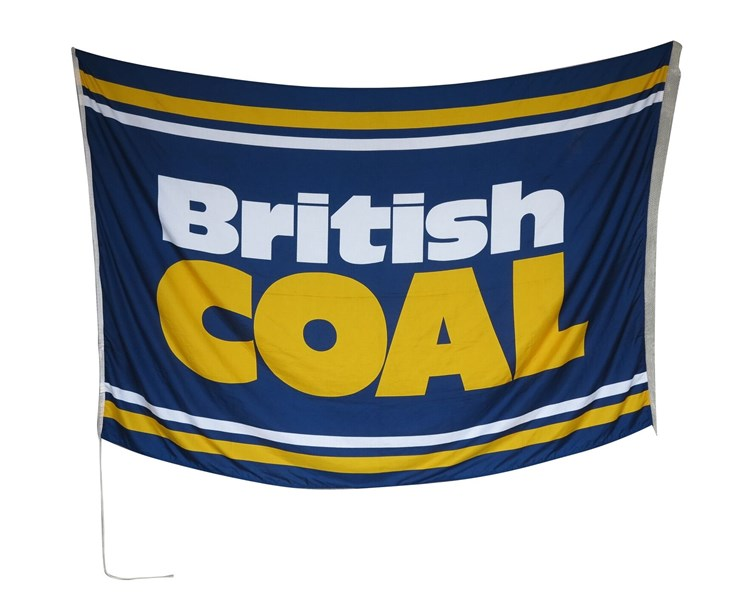 British Coal Flag From Kellingley Colliery