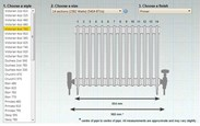 BTUs and dimensions of Carron Victorian 4 Column Cast Iron Radiator - 14 Sections Long - 760mm Tall x 140mm Deep