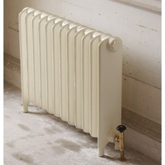 Buttermilk Finish Eton Cast Iron Radiator