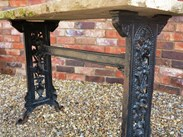 Buy Cast Iron & Stone Top Tables on our Online Shop or in our Yard in Cannock Wood
