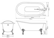 Buy Cast Iron Baths here at UKAA in Cannock Wood Staffordshire