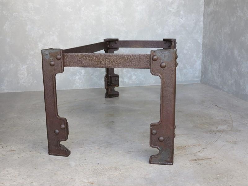 Large Cast Iron Table Base At Ukaa